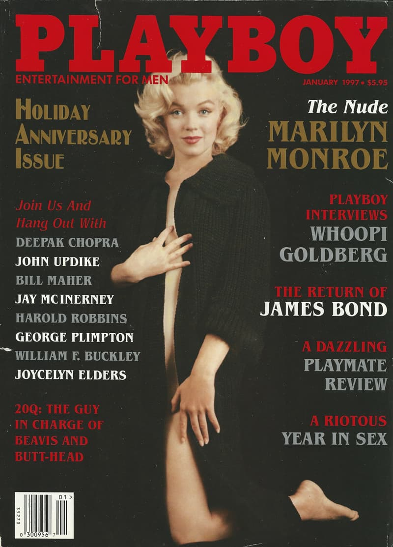 Culture Story: facts about Playboy magazine Hugh Hefner other names for the magazine Marilyn Monroe