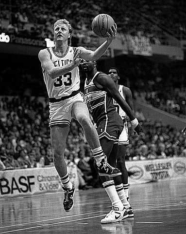 History Story: Larry Bird Celtics - NBA players