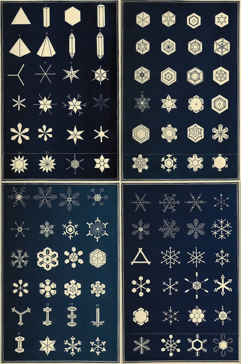 Science Story: #4 35 types of snowflakes exist