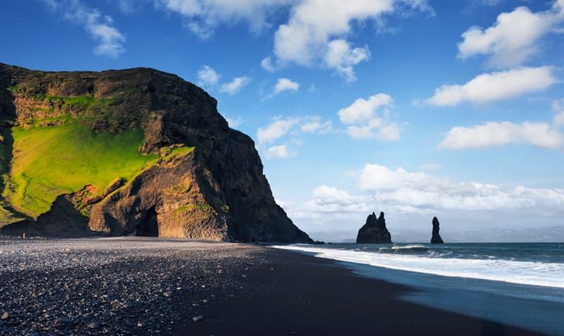 Geography Story: Reynisfjara black sand beach