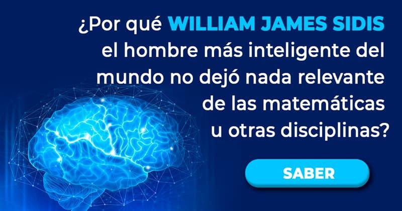 Сiencia Historia: ¿Por qué William James Sidis el hombre más inteligente del mundo no dejó nada relevante de las matemáticas u otras disciplinas?
