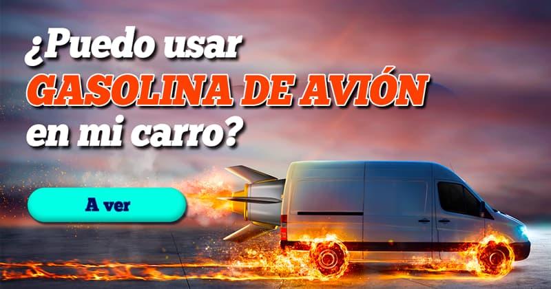 Сiencia Historia: ¿Puedo usar gasolina de avión en mi carro? ¿Cuál sería el efecto?