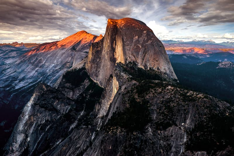 Geography Story: Half Dome in California