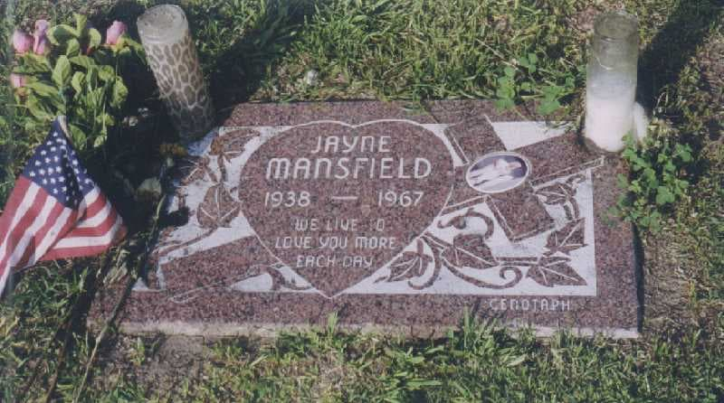 History Story: tragic death car crash facts about Jayne Mansfield biography old Hollywood