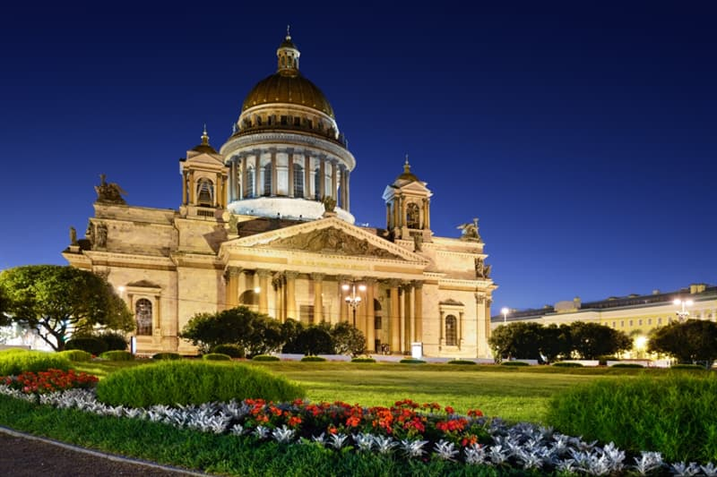 Geography Story: St. Isaac's Cathedral museum Saint Petersburg Russia culture tourism