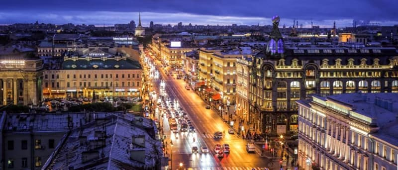 Geography Story: White Nights polar region Saint Petersburg Russia culture tourism