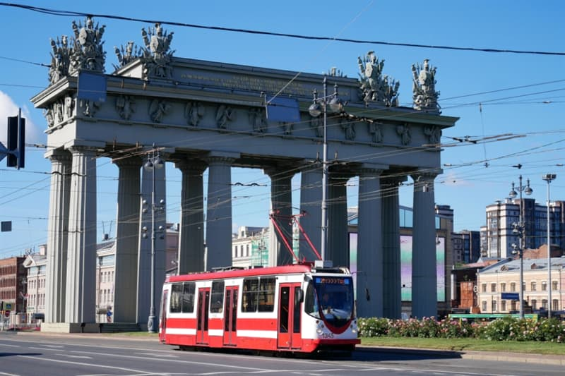 Geography Story: Capital of Trams Saint Petersburg Russia culture tourism