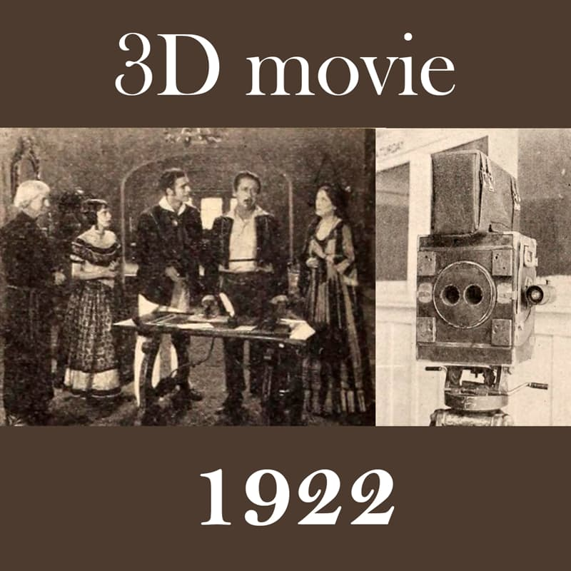 Culture Story: Things that are older than you think 3D movies