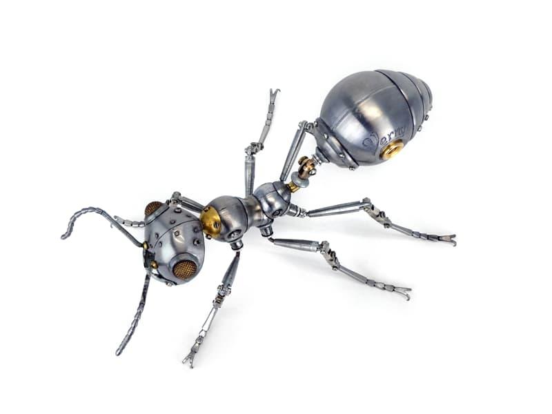 animals Story: steampunk artwork -steampunk style -steampunk ant