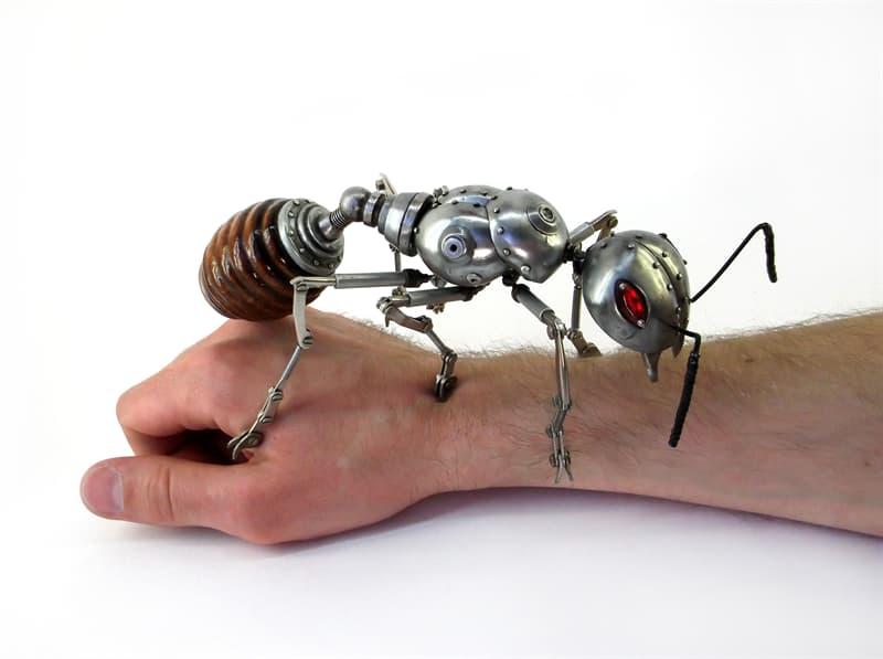 animals Story: steampunk artwork -steampunk style - steampunk ant