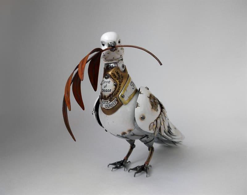 animals Story: steampunk animal sculptures - steampunk artwork