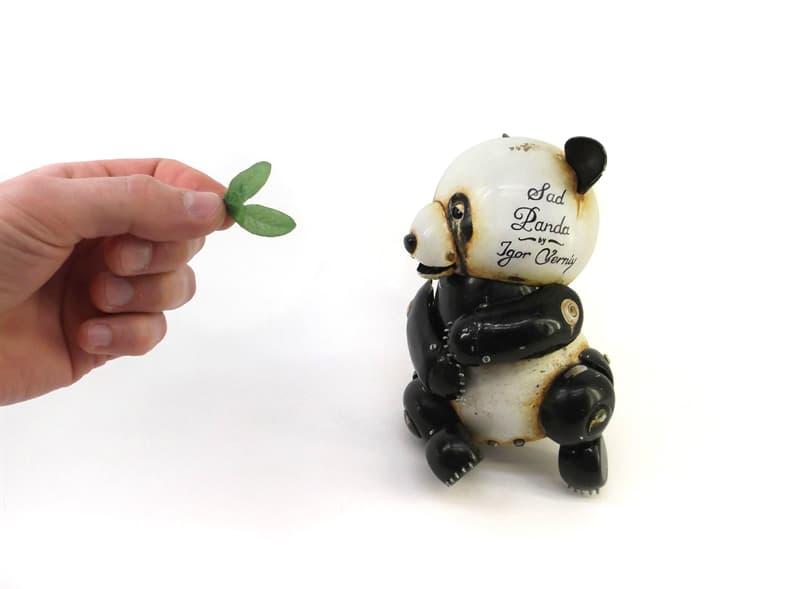 animals Story: steampunk animal sculptures - steampunk artwork - steampunk panda