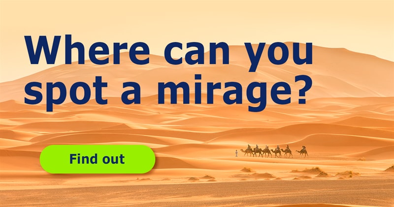 Science Story: How do mirages occur?