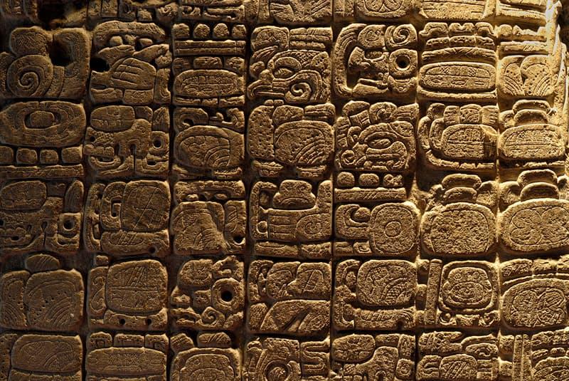 Culture Story: the Mayan hieroglyphs Mayan Civilization culture history pre-columbian period