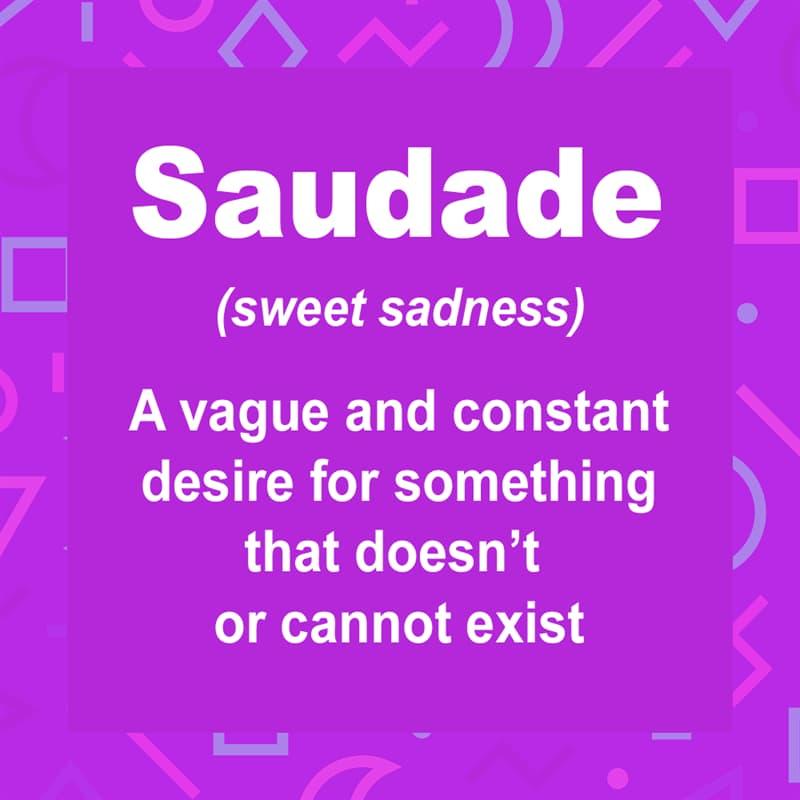 Culture Story: Saudade, Portuguese Nostalgia