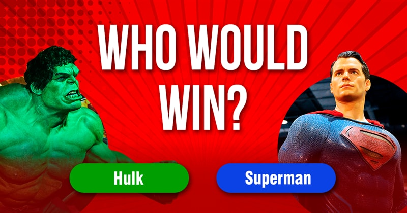 Society Story: Who would win in a fight between Superman and the Hulk?