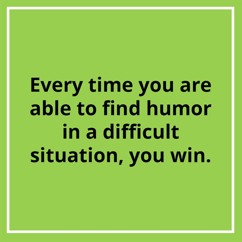Culture Story: #7 On humor as a coping mechanism: