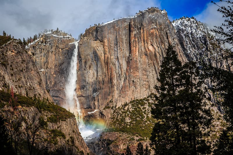 Geography Story: Yosemite Falls California facts about waterfalls most beautiful waterfalls in the world