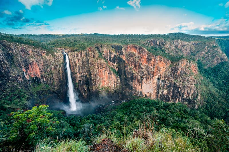 Geography Story: Wallaman Falls, Australia facts about waterfalls most beautiful waterfalls in the world