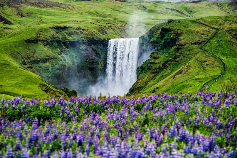 Geography Story: Skogafoss, Iceland facts about waterfalls most beautiful waterfalls in the world