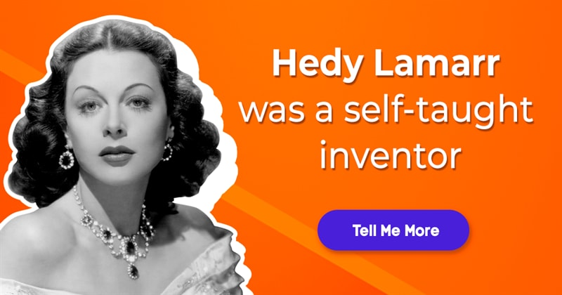 Society Story: 5 unexpected facts about Hedy Lamarr