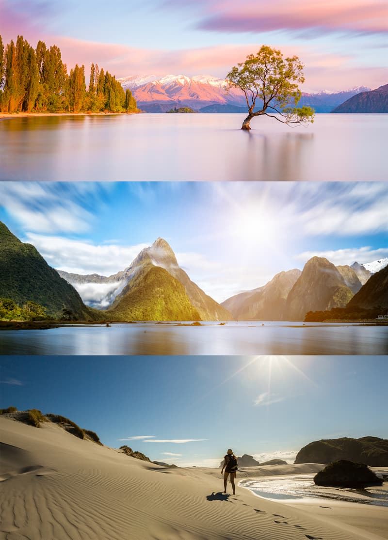 Geography Story: Facts about New Zealand nature scenery