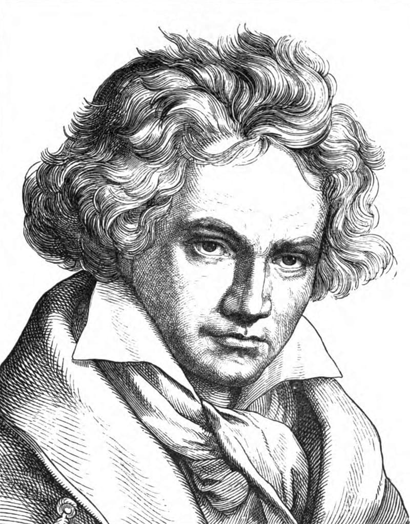 Culture Story: Ludwig Van Beethoven long walks pouring cold water unusual work habits