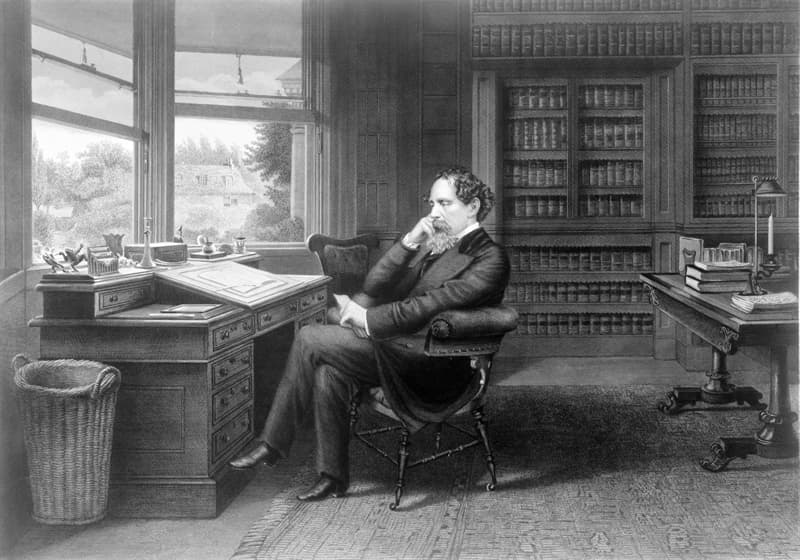 Culture Story: Charles Dickens sleeping facing north unusual work habits