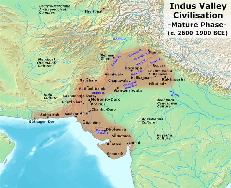Culture Story: #5 No one knows why the Indus Valley civilization collapsed