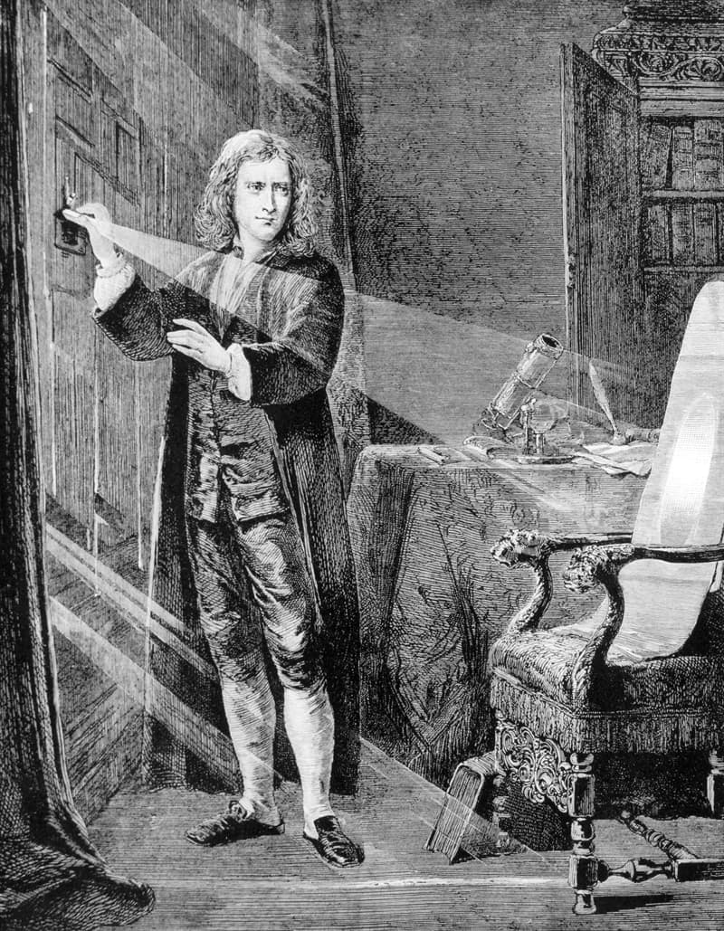 History Story: Isaac Newton facts - facts about famous people