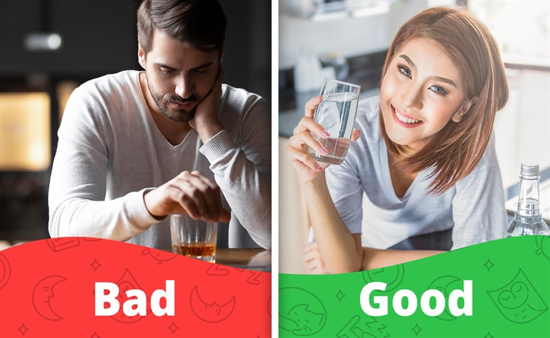 age Story: reasons that cause your insomnia why i sleep bad how to sleep well how to get sleep well remedies to sleep well at night Drinking Too Much Alcohol before bed Alcohol abuse sleep-wake cycle