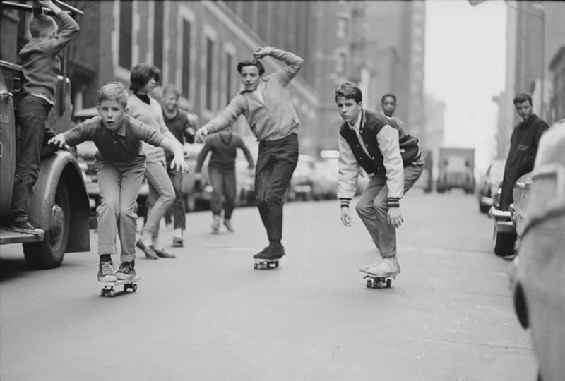Culture Story: 1960 photos old photos old lifestyle history photo black and white aesthetic photos old vibe old school oldschool The Way We Were Skateboarders New York City