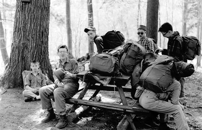 Culture Story: 1960 photos old photos old lifestyle history photo black and white aesthetic photos old vibe old school oldschool The Way We Were Boy Scouts Harriman State Park