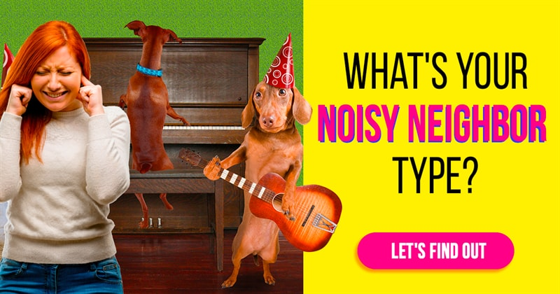 Personality Story: 8 types of noisy neighbors. Find yours