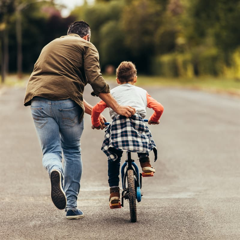 Society Story: best childhood memories riding a bike