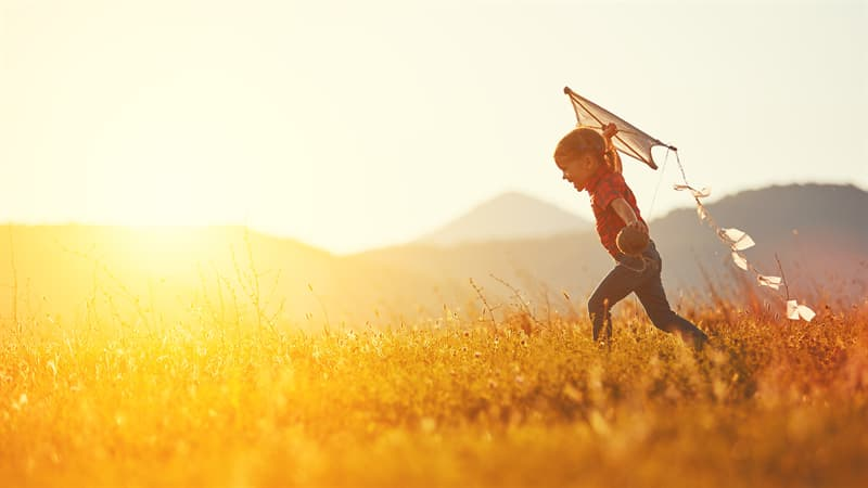 Society Story: best childhood memories flying a kite