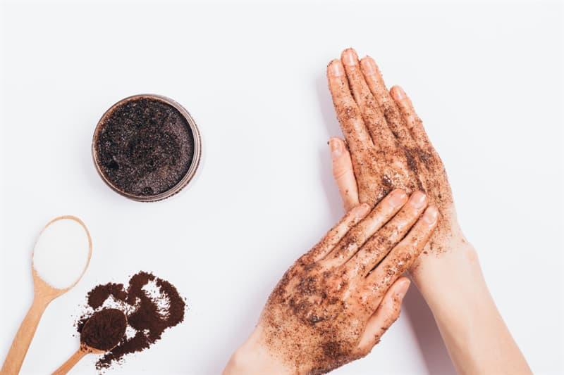 Society Story: coffee lovers life hacks coffee addicts coffee scrub skin scrub