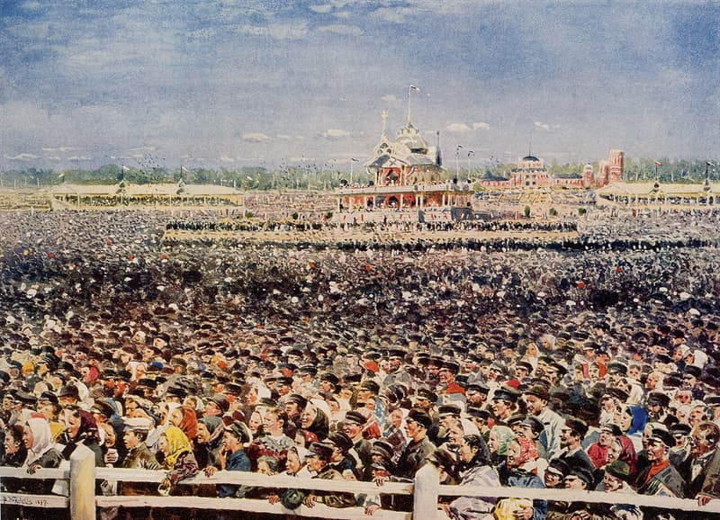 History Story: #10 On the coronation of the last Emperor, Nicholas II, more than 1,300 people died