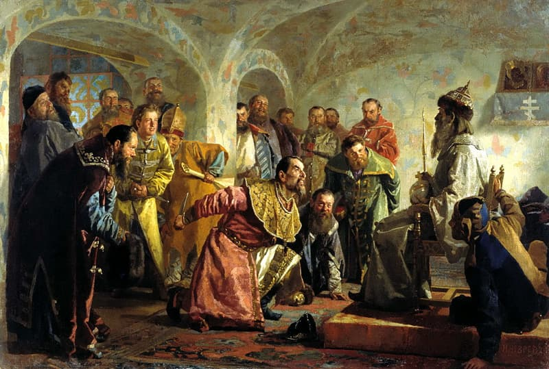 History Story: #2 The beginning of the tsardom