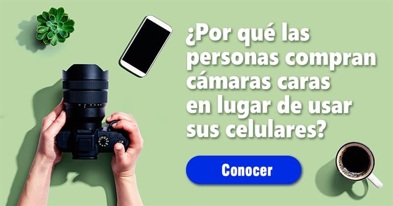 Sociedad Historia: ¿Por qué las personas compran cámaras caras cuando podrían usar sus teléfonos celulares?