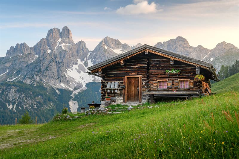 Geography Story: #2 Chalet, the European Alps