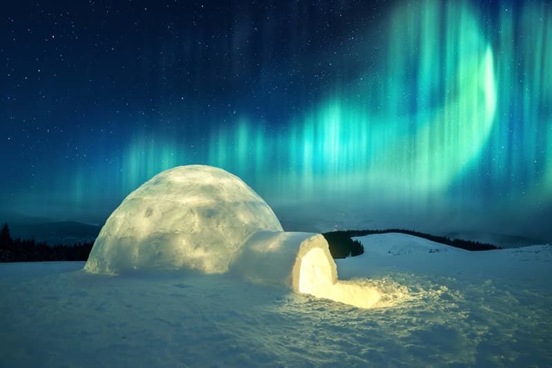 Geography Story: #5 Igloo, Canada's Central Arctic