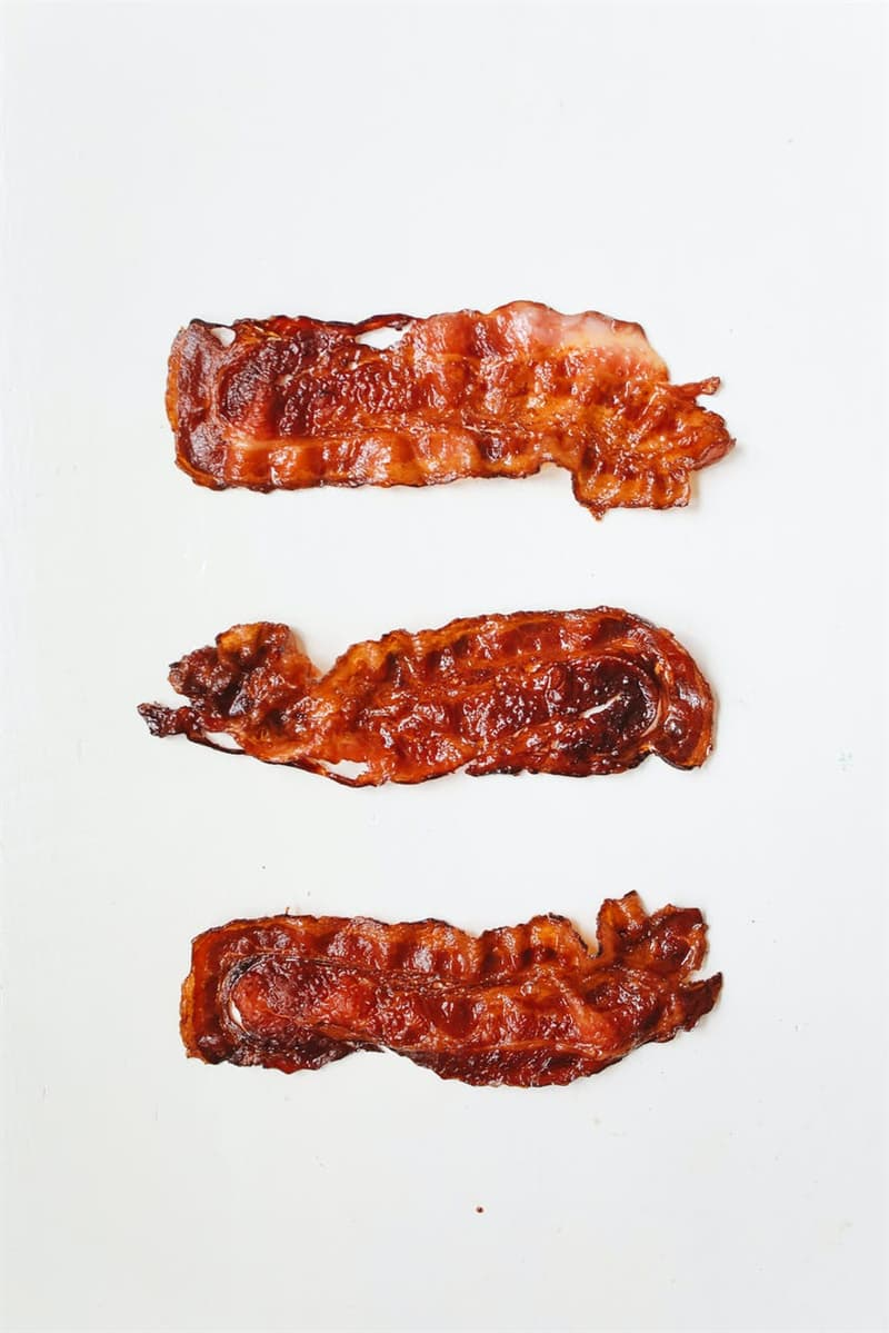 Culture Story: #2 Lightly dust bacon strips with flour before frying