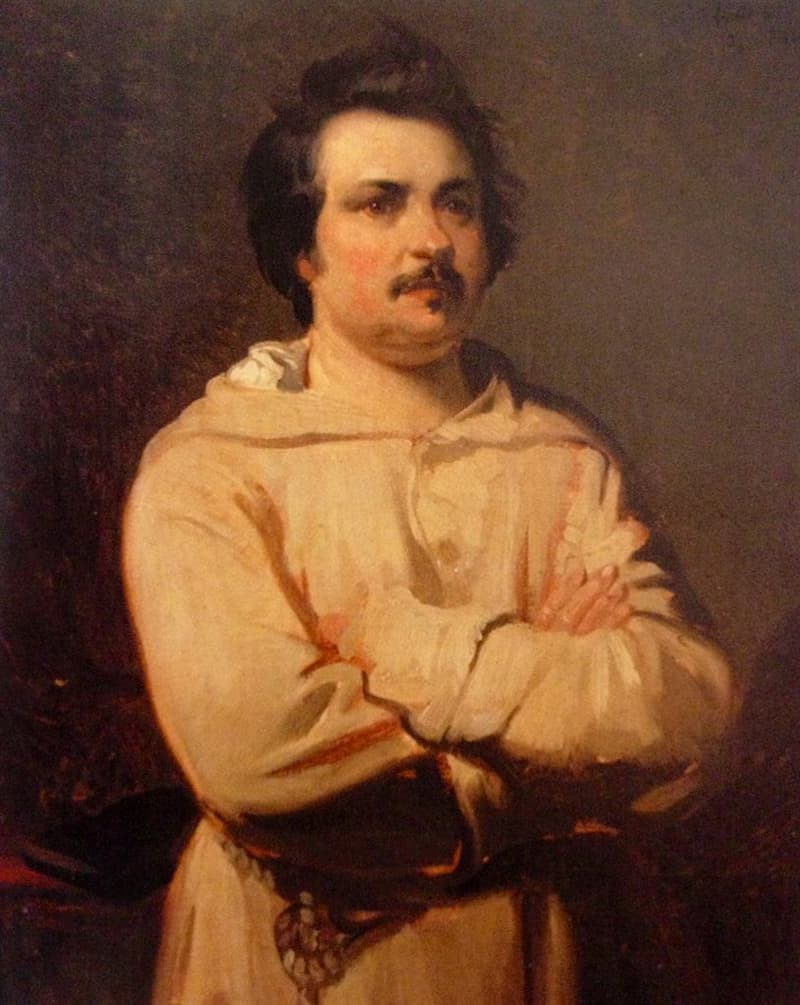 Society Story: Honore de Balzac facts famous artists weird habits coffee addicts