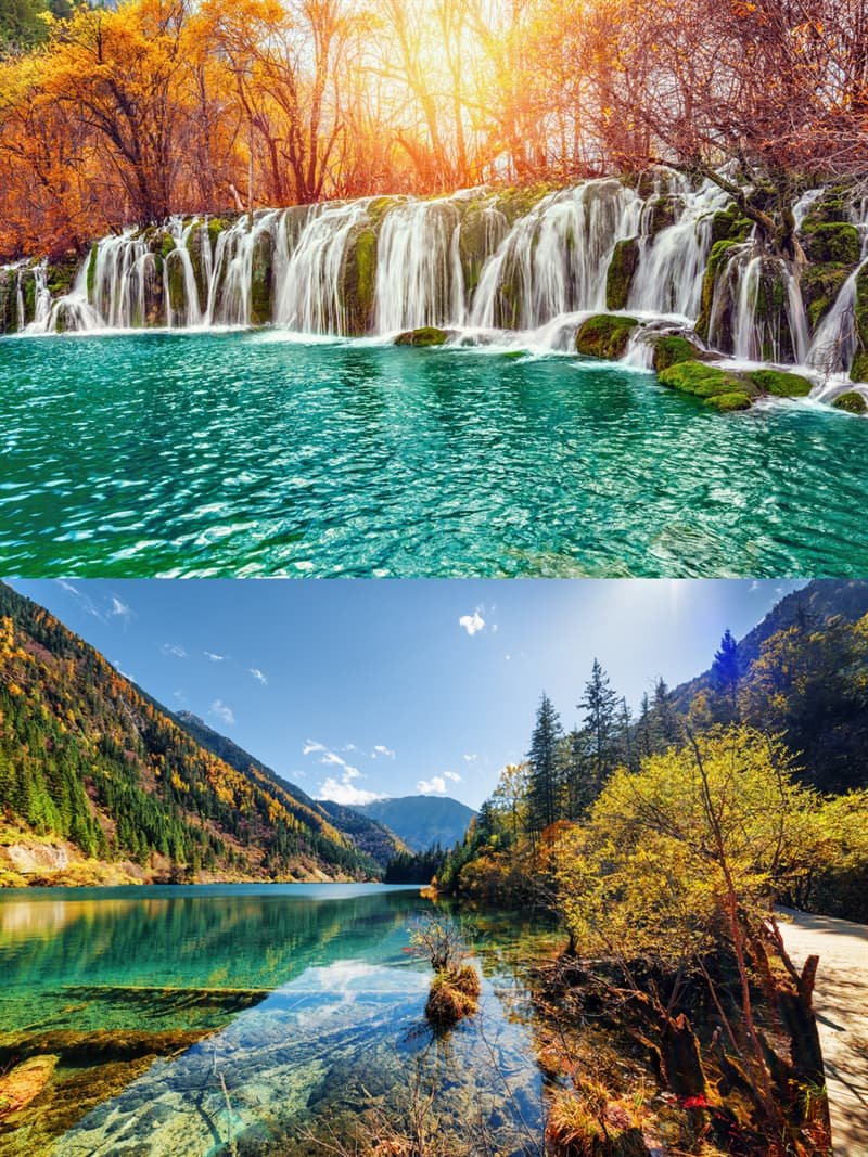 Geography Story: 2. Jiuzhaigou National Park