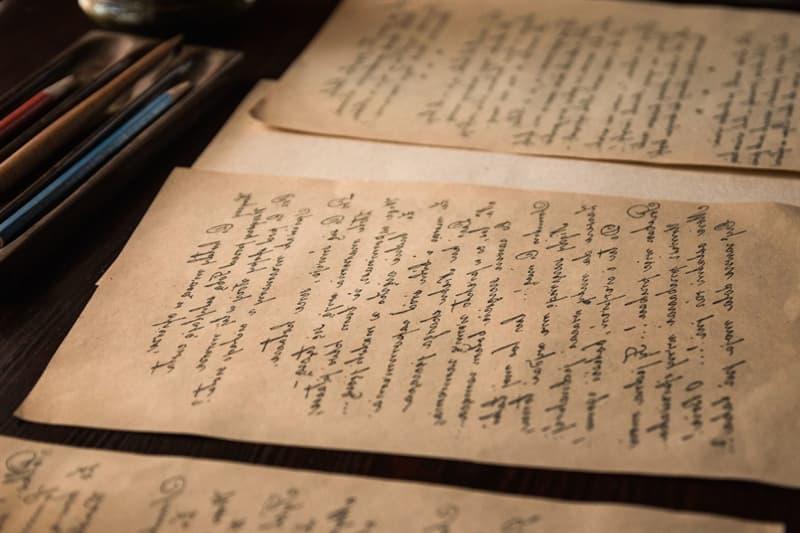 History Story: #10 Sending a handwritten letter