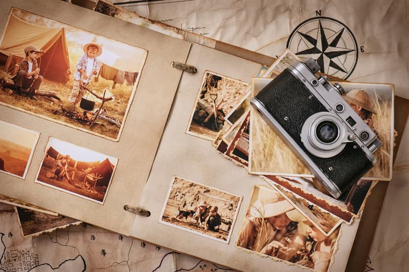 History Story: #7 Making photo albums