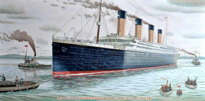 History Story: #8 Binoculars might have saved the Titanic