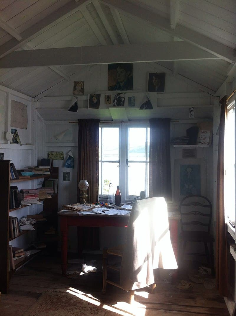 Culture Story: #1 Roald Dahl worked in his garden shed