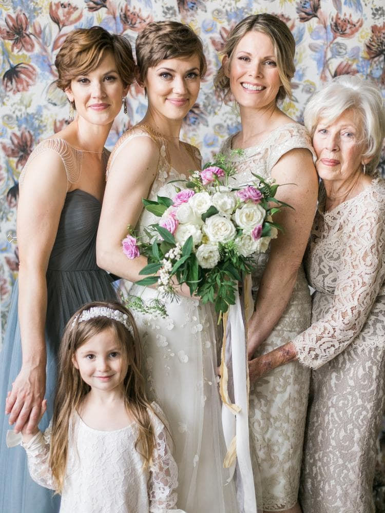 Society Story: #9 You could almost call all three women daughters of the great-grandma in this multi-generational photo.